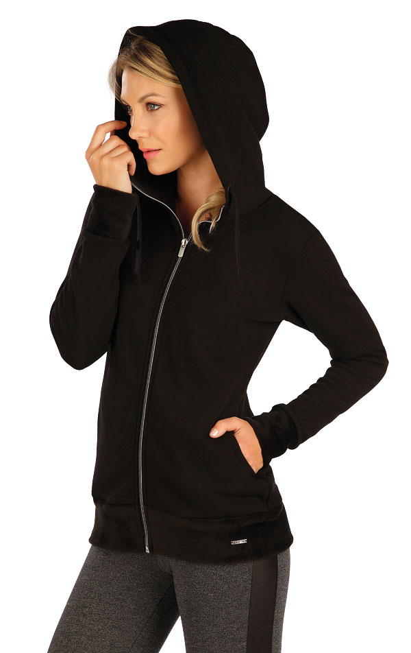 Mikina dámska s kapucňou. 7A089 | Bundy, vesty LITEX