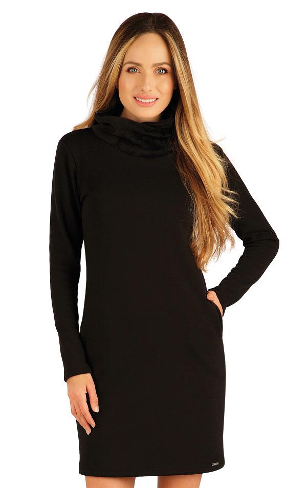 Mikinové šaty s dlhým rukávom. 7A090 | Šaty, sukne, tuniky LITEX