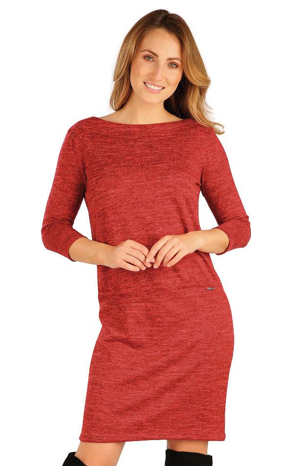 Šaty dámske s 3/4 rukávom. 7A103 | Šaty, sukne, tuniky LITEX