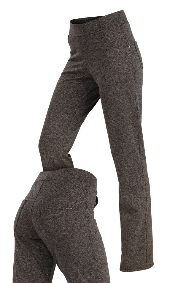 Tepláky dámske dlhé do pása. 7A107 | Športové nohavice, tepláky, kraťasy LITEX