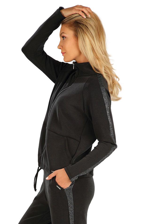 Mikina dámska na zips. 7A114 | Bundy, vesty, kabátiky LITEX