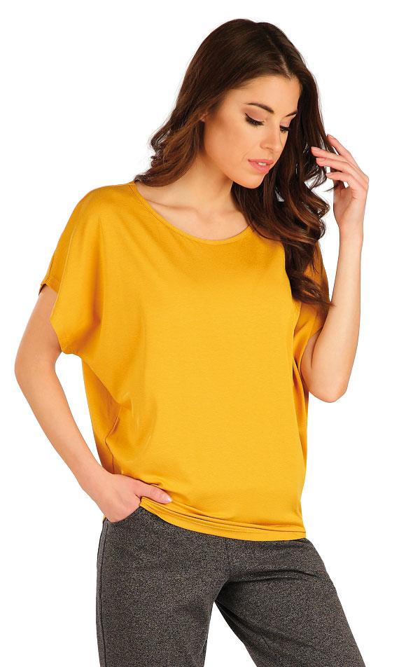 Tričko dámske s krátkym rukávom. 7A147 | Tielka, trička, halenky LITEX