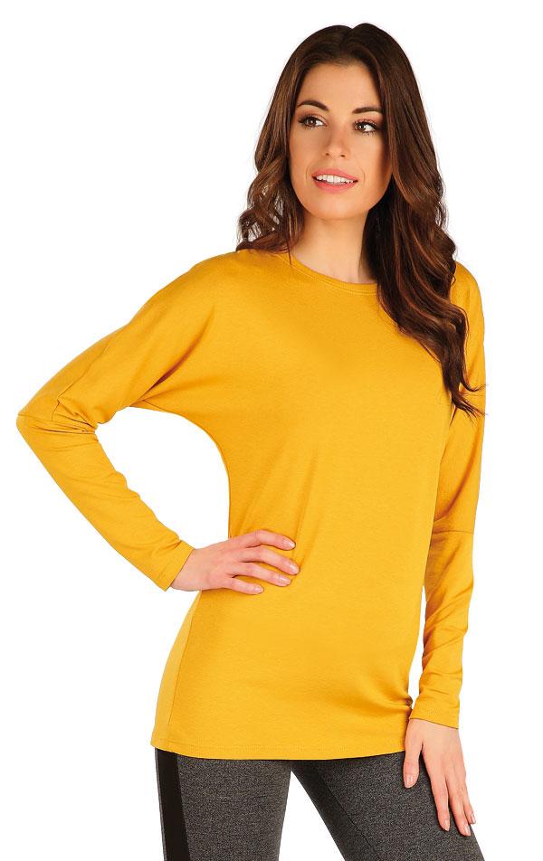 Tričko dámske s dlhým netopierim rukávom. 7A148   Tielka, trička, halenky LITEX