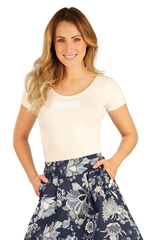 Tričko dámske s krátkym rukávom. 7A161 | Tielka, trička, halenky LITEX