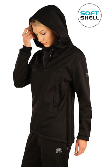 Bežecké oblečenie > Bunda dámska softshellová s kapucňou. 7A208
