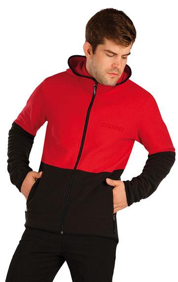 Pánske športové oblečenie > Fleecová mikina pánska s kapucňou. 7A284