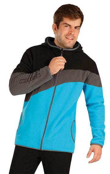 Pánske športové oblečenie > Fleecová mikina pánska s kapucňou. 7A287