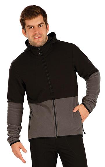 Pánske športové oblečenie > Fleecová mikina pánska s kapucňou. 7A294