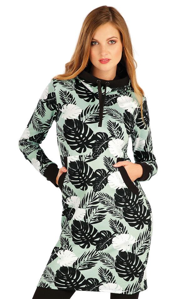 Mikinové šaty s kapucňou. 7A321 | Šaty, sukne, tuniky LITEX