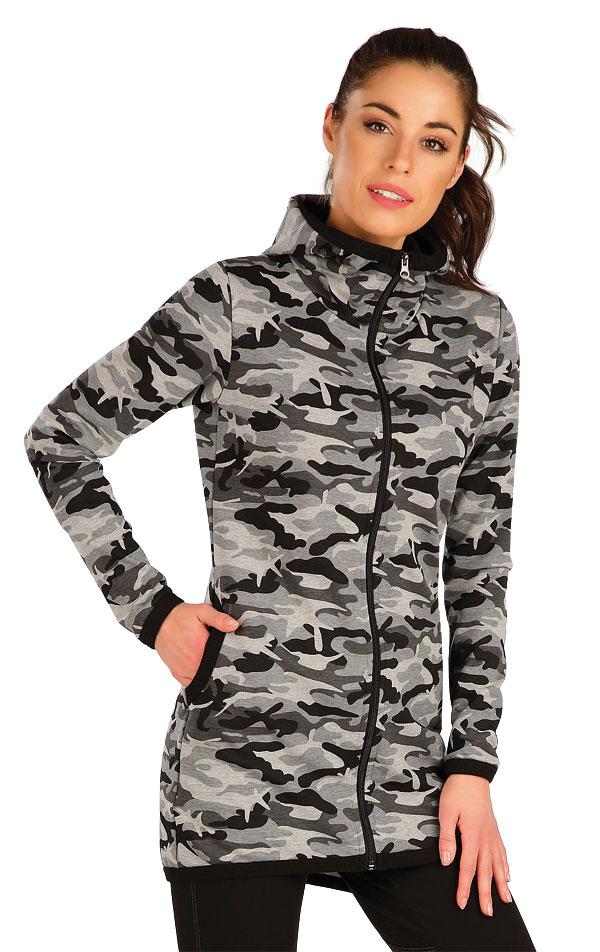 Mikina dámska s kapucňou. 7A333   Bundy, vesty LITEX
