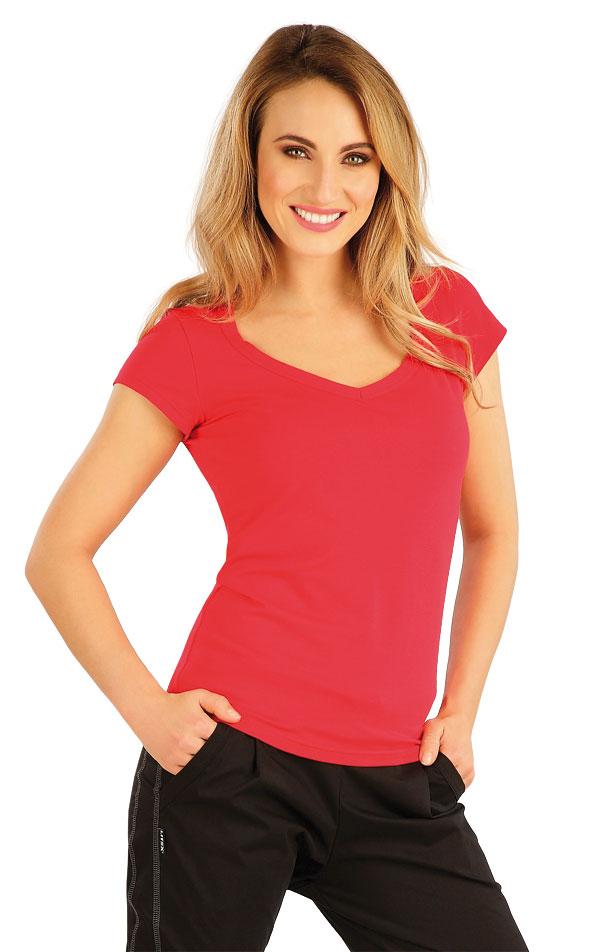 Tričko dámske s krátkym rukávom. 7A360 | Tielka, trička, halenky LITEX