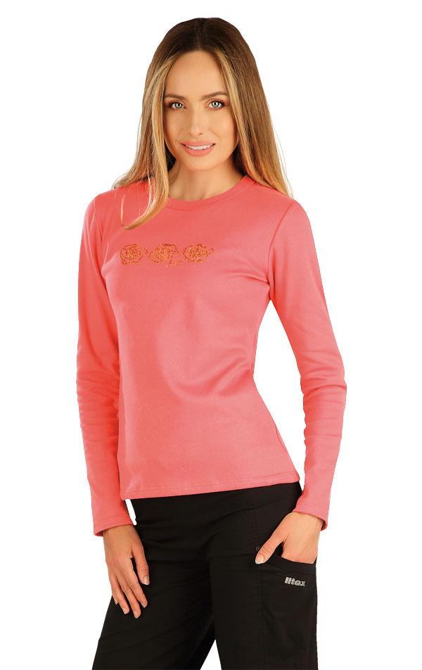 Tričko dámske s dlhým rukávom. 7A363   Tielka, trička, halenky LITEX