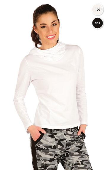 Tielka, trička, halenky > Tričko dámske s prekríženou kapucňou. 7A364