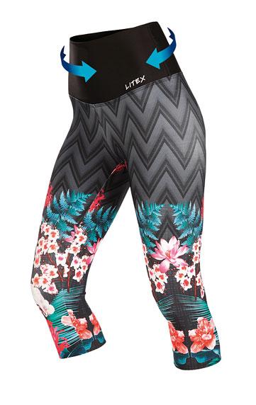 Fitness oblečenie > Legíny dámske v 3/4 dĺžke. 7A397