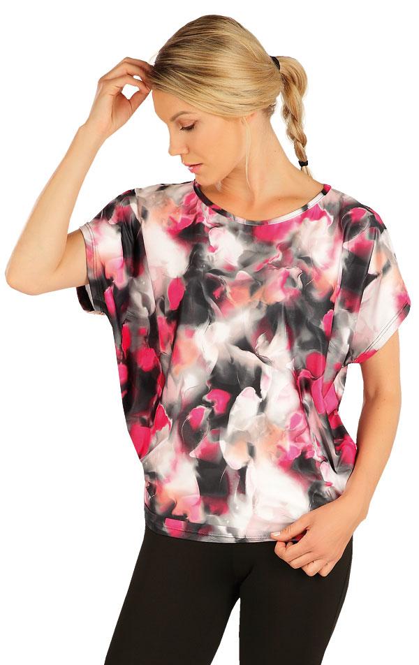 Tričko dámske s krátkym rukávom. 7A402 | Tričká LITEX