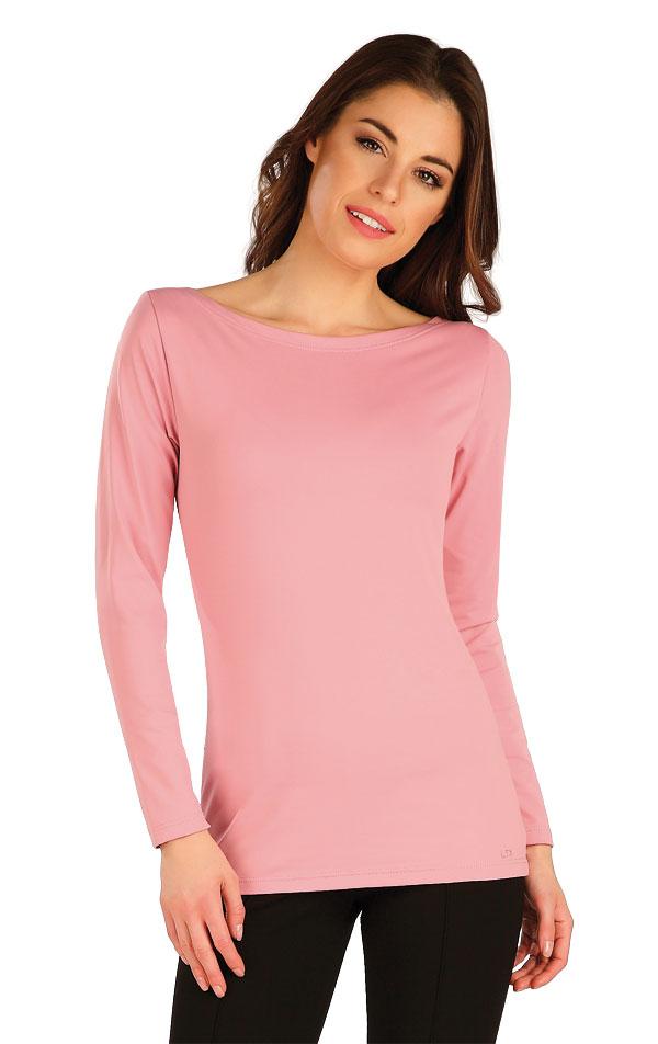 Tričko dámske s dlhým rukávom. 7A436 | Tielka, trička, halenky LITEX