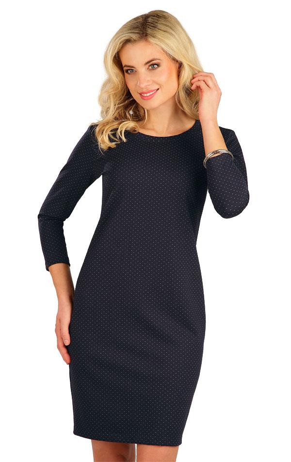 Šaty dámske s 3/4 rukávom. 7B002 | Šaty, sukne, tuniky LITEX