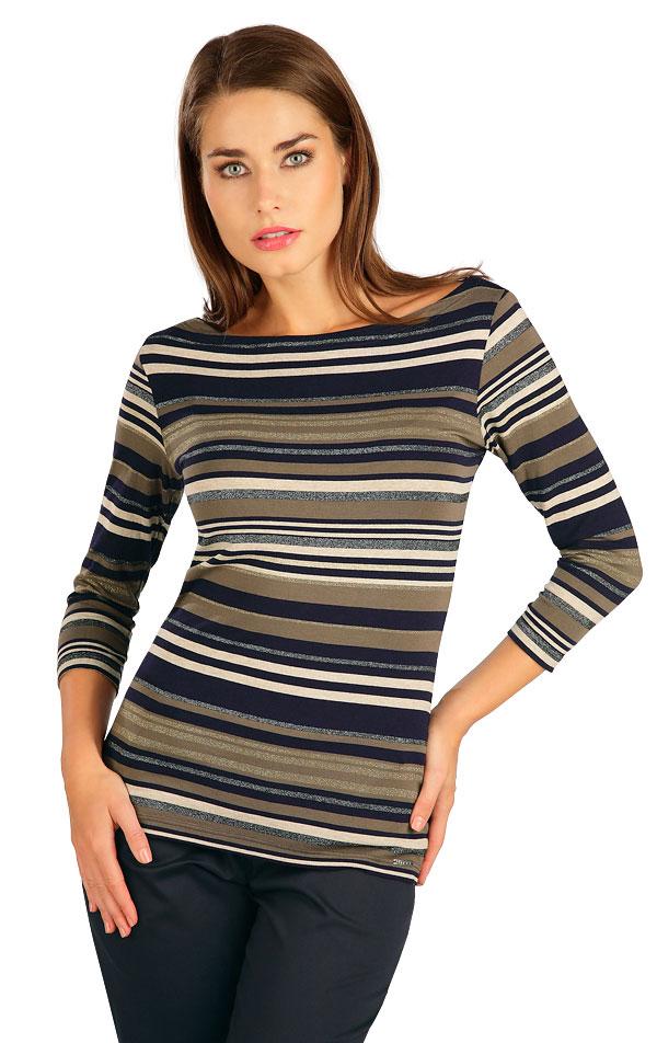 Tričko dámske s 3/4 rukávom. 7B023 | Tielka, trička, halenky LITEX