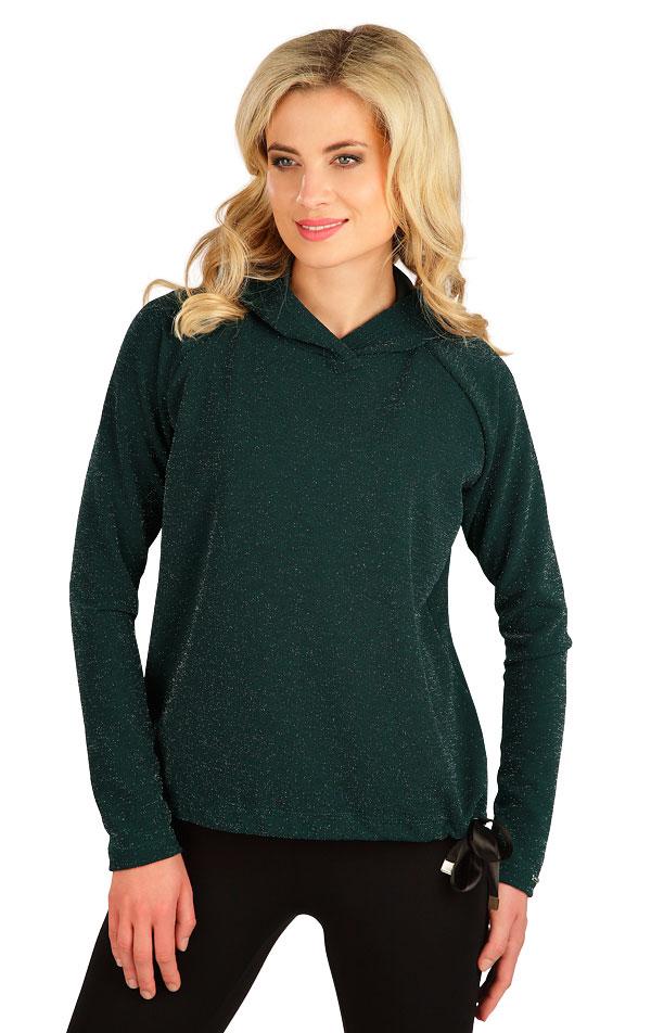 Tričko dámske s kapucňou. 7B029   Tielka, trička, halenky LITEX