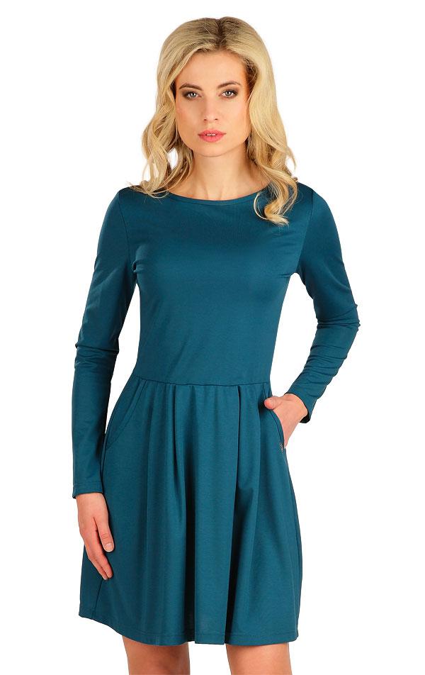 Šaty dámske s dlhým rukávom. 7B047   Šaty, sukne, tuniky LITEX