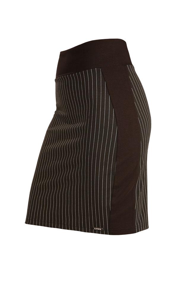 Sukňa dámska do pásu. 7B056   Šaty, sukne, tuniky LITEX