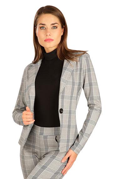 Bundy, vesty, kabátiky > Sako dámske s dlhým rukávom. 7B058