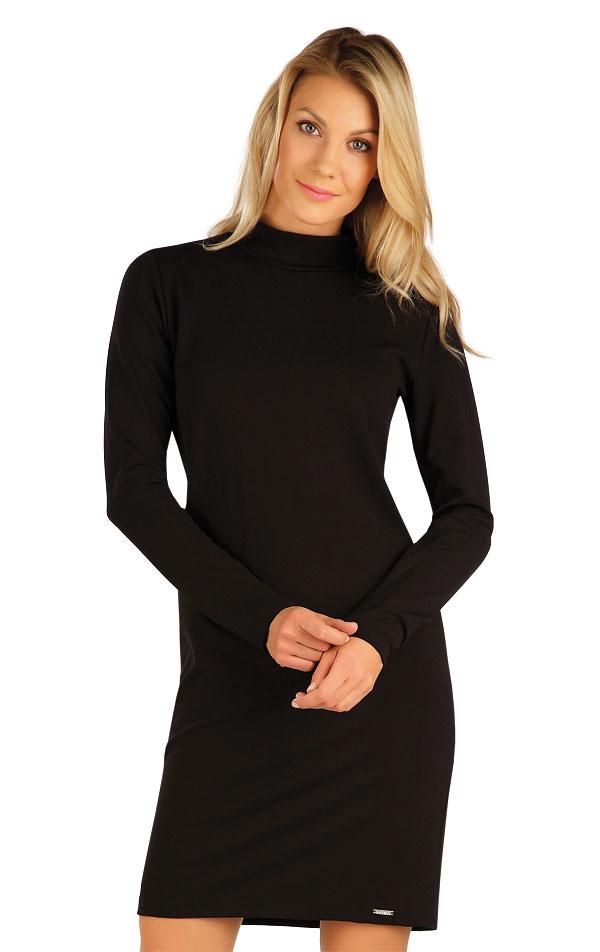 Šaty dámske s dlhým rukávom. 7B080   Šaty, sukne, tuniky LITEX