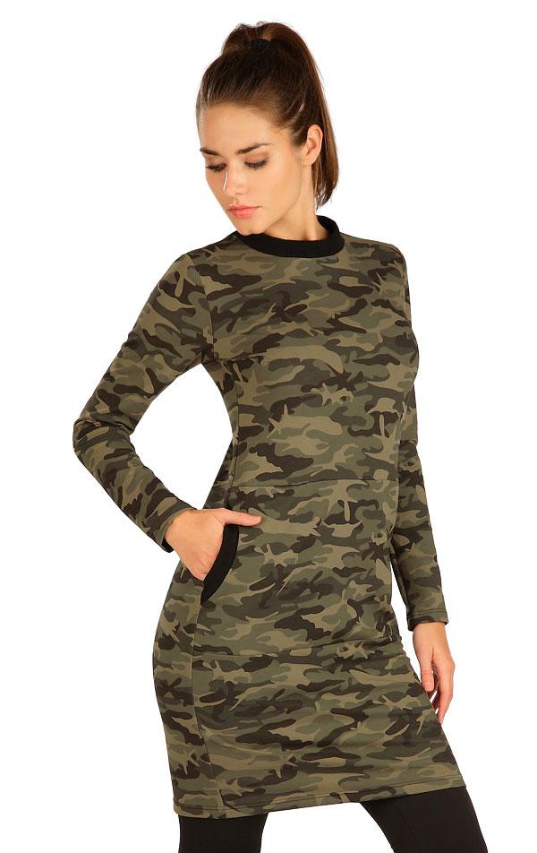 Šaty dámske s dlhým rukávom. 7B081   Šaty, sukne, tuniky LITEX