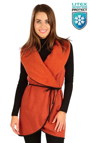 Bundy, vesty, kabátiky > Vesta dámska dlhá. 7B087