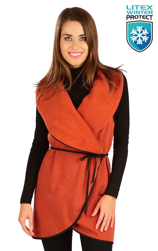 Vesta dámska dlhá. 7B087   Bundy, vesty, kabátiky LITEX