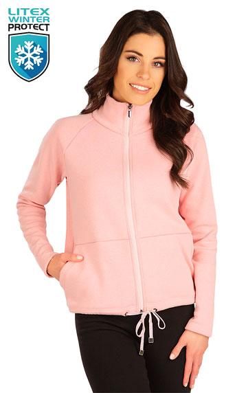 Bundy, vesty, kabátiky > Mikina dámska na zips. 7B098