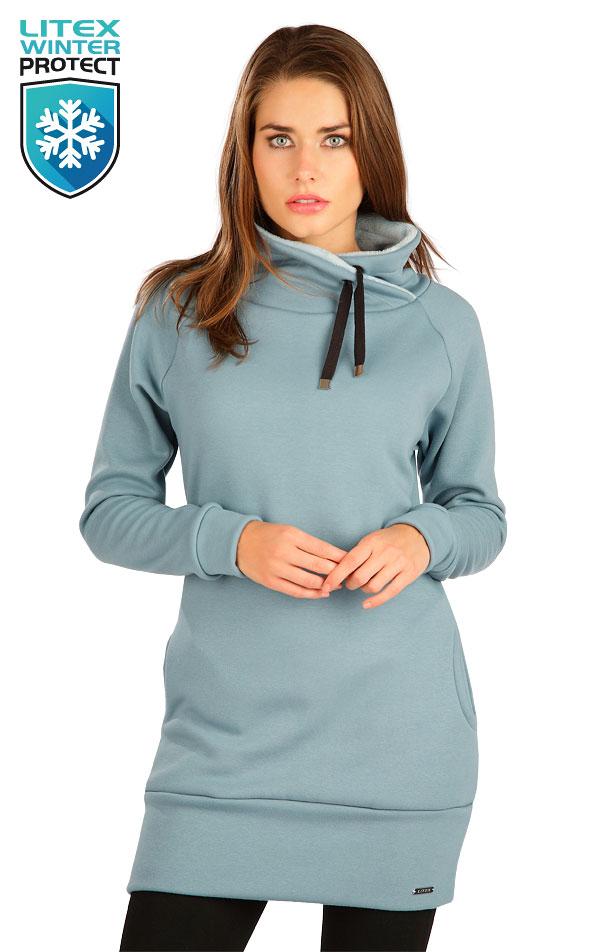 Mikinové šaty s dlhým rukávom. 7B110 | Šaty, sukne, tuniky LITEX