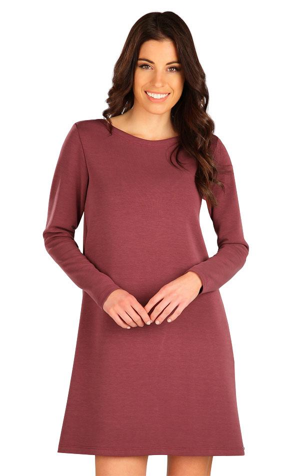 Šaty dámske s dlhým rukávom. 7B126 | Šaty, sukne, tuniky LITEX