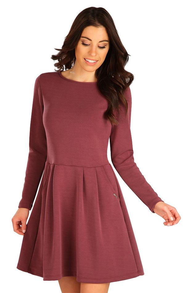 Šaty dámske s dlhým rukávom. 7B127   Šaty, sukne, tuniky LITEX