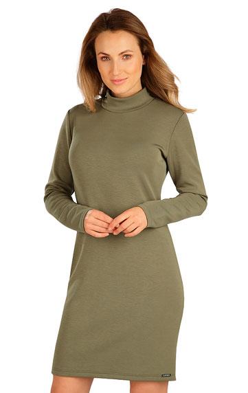 Šaty dámske s dlhým rukávom.
