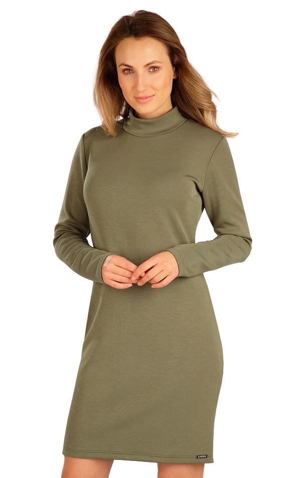 Šaty dámske s dlhým rukávom. 7B135 | Šaty, sukne, tuniky LITEX