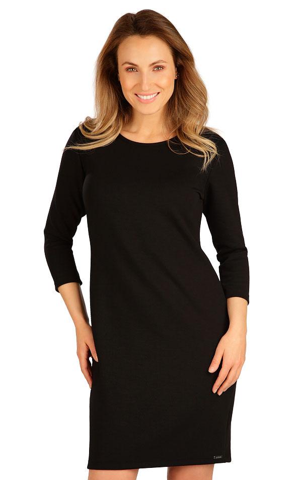 Šaty dámske s 3/4 rukávom. 7B144   Šaty, sukne, tuniky LITEX
