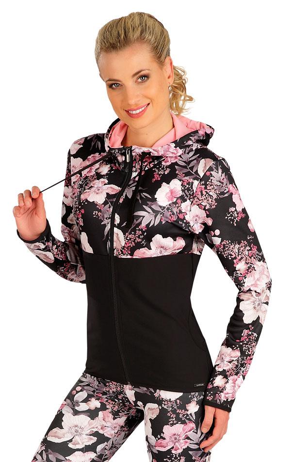 Mikina dámska s kapucňou. 7B172   Bundy, vesty LITEX