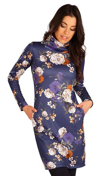 LITEX Mikinové šaty s dlhým rukávom. 7B180