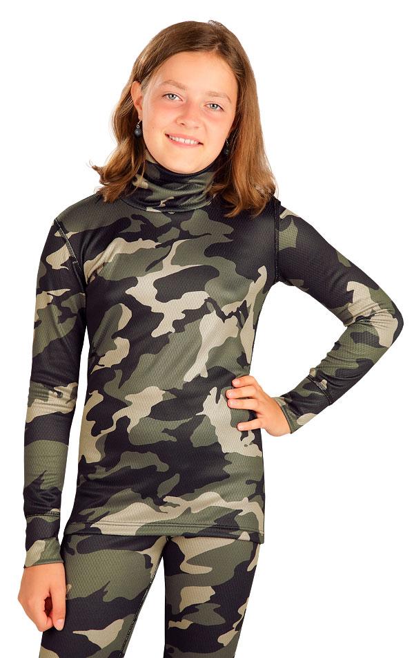 Funkčné termo tričko detské. 7B203 | Termobielizeň LITEX