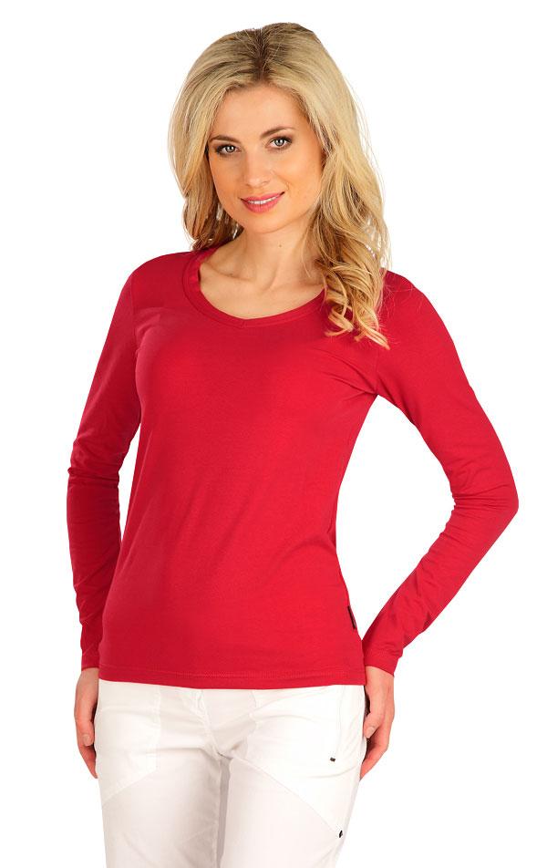 Tričko dámske s dlhým rukávom. 7B227 | Tielka, trička, halenky LITEX