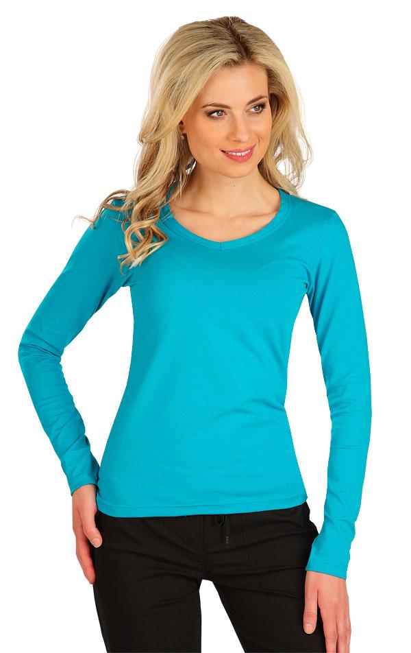 Tričko dámske s dlhým rukávom. 7B228 | Tielka, trička, halenky LITEX