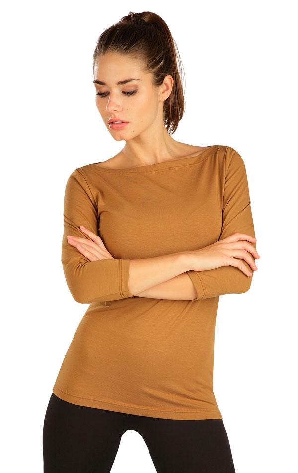 Tričko dámske s 3/4 rukávom. 7B230 | Tielka, trička, halenky LITEX