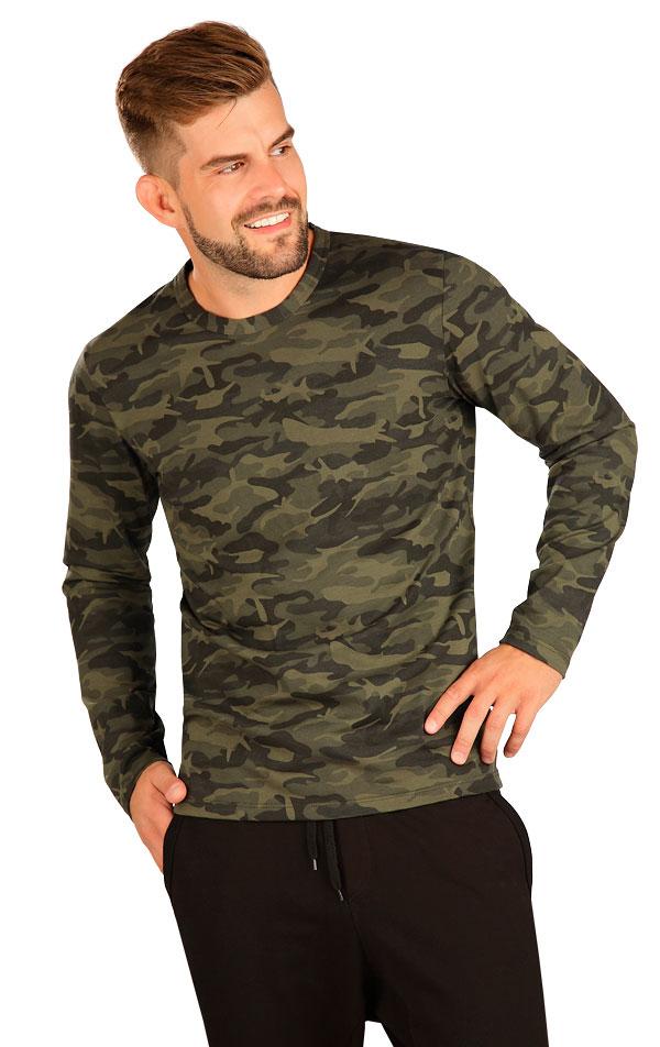 Tričko pánske s dlhým rukávom. 7B233   Trička, tielka LITEX