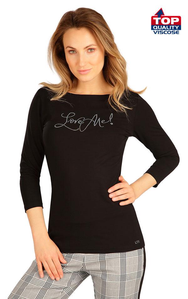 Tričko dámske s 3/4 rukávom. 7B235 | Tielka, trička, halenky LITEX