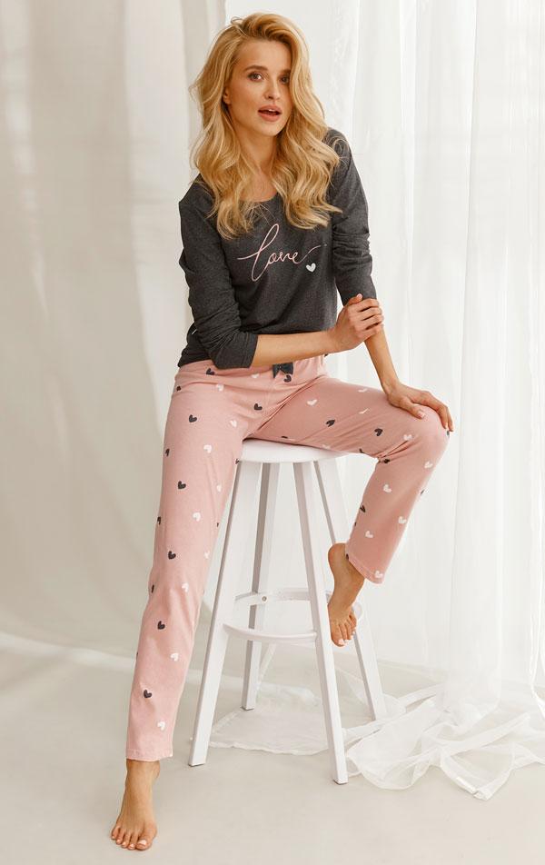 Pyžamo dámske. 7B358   Pyžamá, nočné košele LITEX