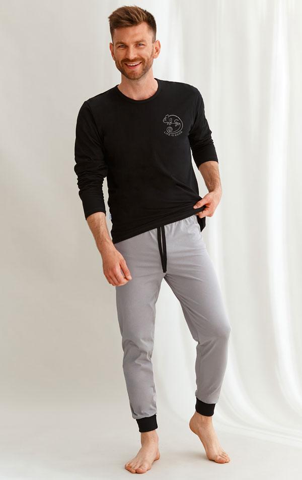 Pyžamo pánske. 7B366   Pyžamá, nočné košele LITEX