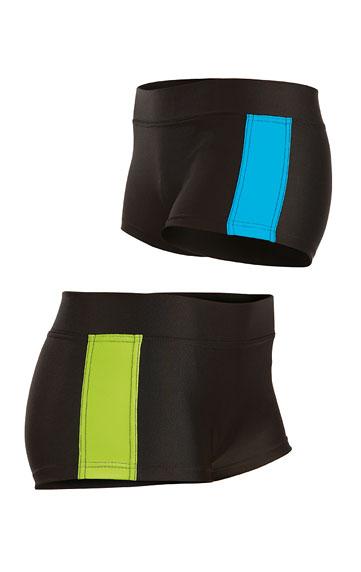 Plavkové nohavičky bokové s nohavičkou.