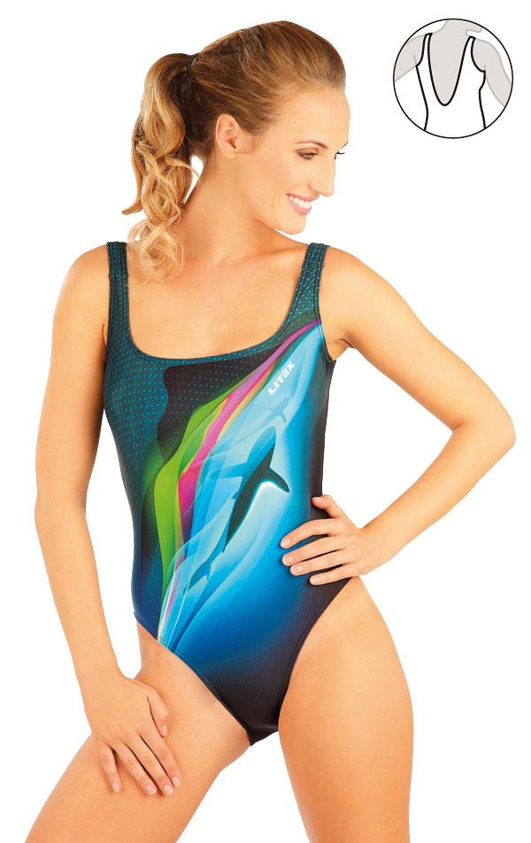 Jednodielne športové plavky. 88396 | Športové plavky LITEX