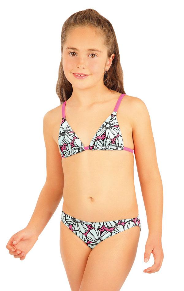 Dievčenská plavková podprsenka. 88446   Detské plavky - zľava LITEX